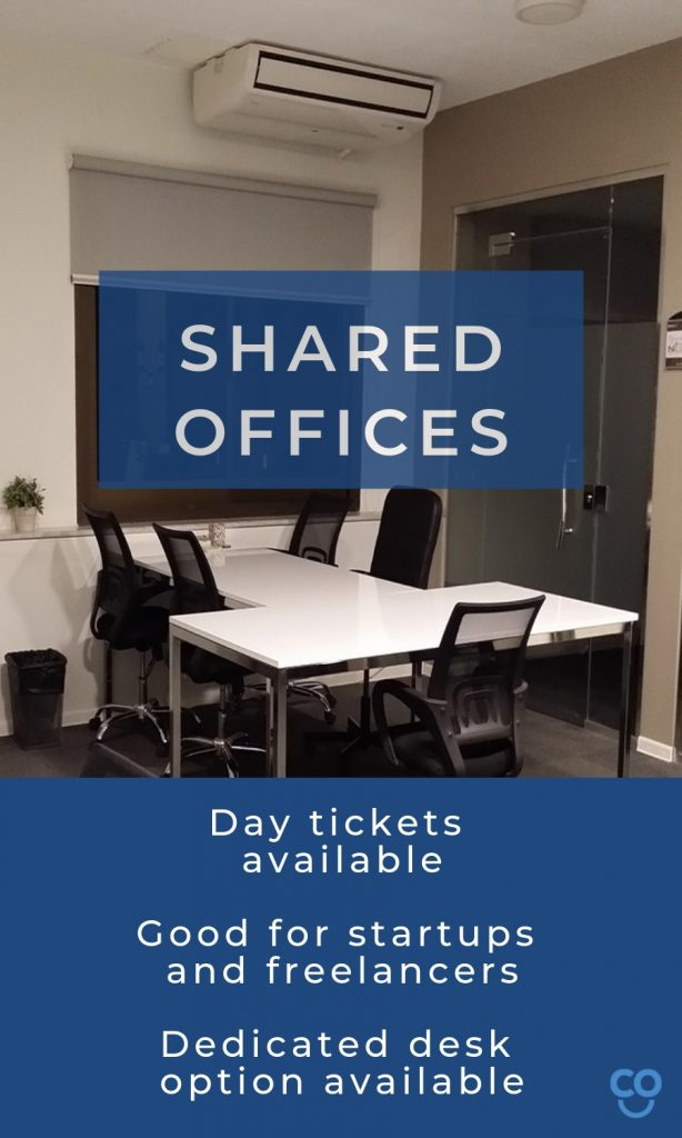myCOoffice shared office coworking space information
