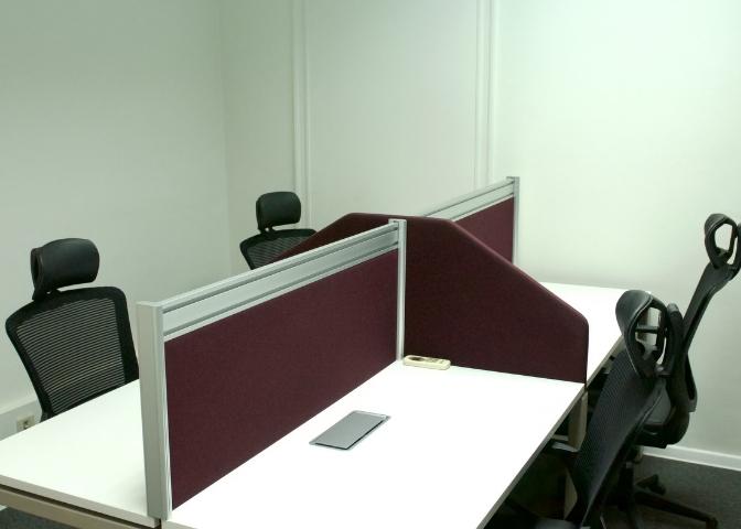 Coworking Team Office Workspace Furniture Design