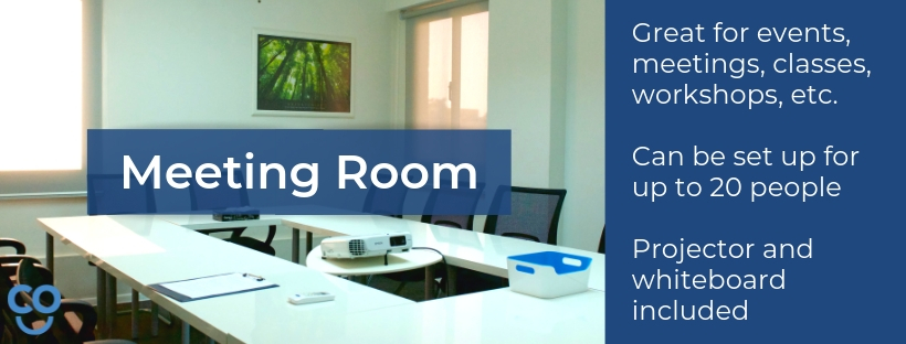 myCOoffice meeting and conference room information