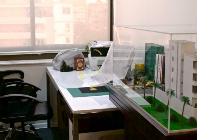 myCOoffice private office in Cairo setup